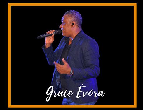 Man in Blazer singing. Cape Verdean. Grace Evora. Photography.