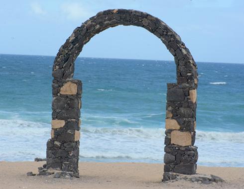 Landscape. Rock. Arch. Ocean. Sand. Photography.