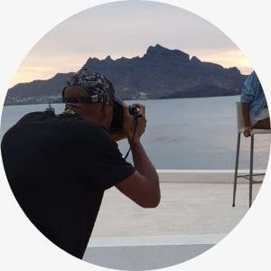 Man photographer.